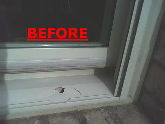 Window frame repair window frame repair exterior cracks for Vinyl windows denver